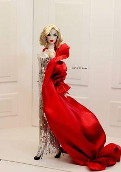 Fashion Royalty Dolls, Fashion Dolls, Barbie Clothes, Barbie Dolls, Burlesque, Barbie Miss, B Fashion, Barbie Fashionista, Doll Face
