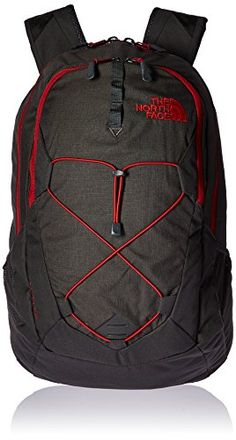 The North Face Jester Backpack Asphalt Grey Dark HeatherCardinal Red Size One Size ** Check this awesome product by going to the link at the image.