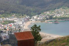 Vista de Covas. Viveiro. (Lugo). Galicia. Spain.