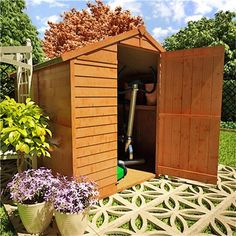 The BillyOh 30 Windowless Range - Cheap Wooden Sheds - Garden Buildings Direct