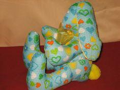 Baby Heart Bunny Side