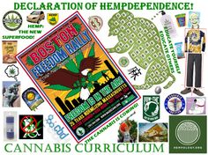 """Declaration of Hempdependence: Speech from the Boston Freedom Rally """"Just as our forefathers risked everything fighting for their freedom, cannabis consumers risk getting fired, losing custody of their children or getting arrested. If we truly want freedom, we must stand up to the tyranny of prohibition. They'll do everything they can to stop us but we have to be peaceful revolutionaries. We must fight back with kindness, caring and compassion.""""  John Dvorak"""