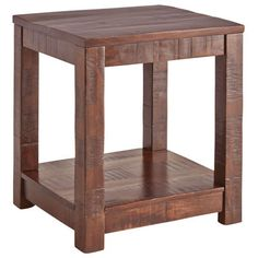 Parsons End Table - Tobacco Brown | Pier 1 Imports