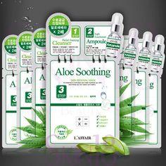 L'affair ALOE SOOTHING 3 step Skin Renewal Mask