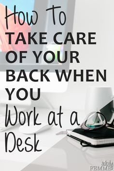 Since I started to work at a desk I've found back pain to be a common occurrence. These are proven ways to help reduce pain when having to work at a desk