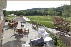 A truly unique Hudson Valley wedding venue:  Hollow Brook Golf Club