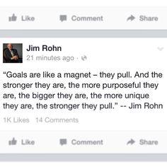 Goals...