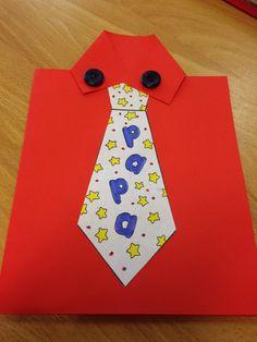 Overhemd vouwen + stropdas