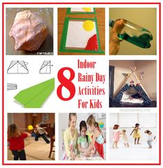 Rained out your outdoor kids party? Here are some quick and easy Indoor rainy day activities for Kids. Creative Activities For Toddlers, Rainy Day Activities For Kids, Rainy Day Fun, Games For Kids, Rainy Days, Summer Fun For Kids, Diy For Kids, Crafts For Kids, Winter Fun