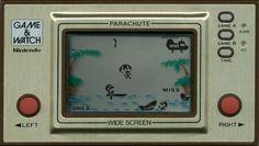 Nintendo Game & Watch. Parachute.