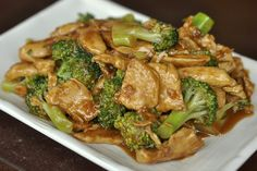 Stir frying chicken