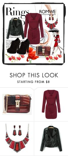 """Romwe 1"" by dinka1-749 ❤ liked on Polyvore featuring Tiffany & Co. and New Look"