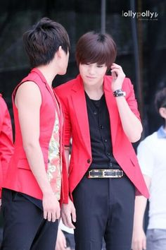 Nam woohyun with lee sungjong