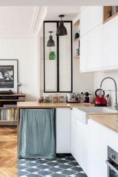 & & & & Kitchen with canopy New Kitchen, Kitchen Island, Kitchen Decor, Kitchen Cabinets, Modern Decor, Sweet Home, House, Design, Recherche Google