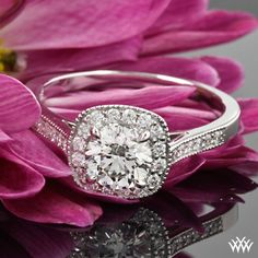 Diamond Delighted - Grace Diamond Engagement Ring by Vatche featuring a 0.766ct Diamond