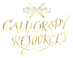 Calligraphy Tutorial | Calligraphy Resources, the best resources for learning Calligraphy