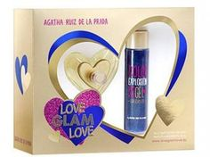 Agatha Ruiz de La Prada Coffret Perfume Feminino - Love Glam Love Edt 80ml + Gel de Banho 100ml