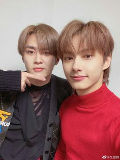 #SEVENTEEN #JUN weibo updated with #WAYV #KUN 🌼