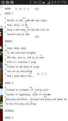 """Revelation Song,"" by Kari Jobe chords"