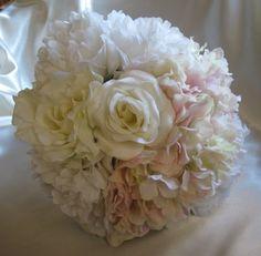 Peonies and Hydrangeas Wedding Bouquet | Wedding Bouquet Peonies Hydrangeas and Roses | My Wedding!