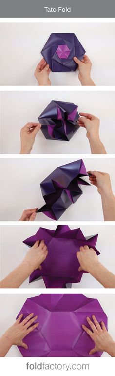 This advanced variation of the Tato format is a very special origami-inspired…