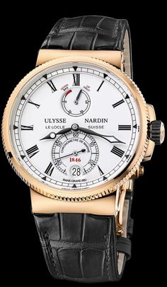 1186-126/E0 - Marine Chronometer Manufacture - Marine Chronometer - Marine - Welcome to the Ulysse Nardin collection - Ulysse Nardin - Le Locle - Suisse - Swiss Mechanical Watch Manufacturer
