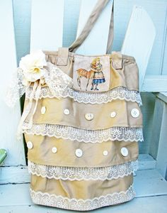 Alice canvas tote bag.