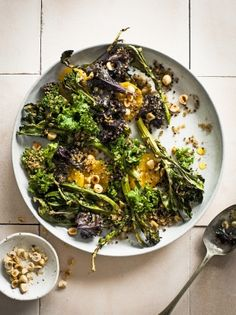 Orange - Broccoli - Hazelnuts - Kale - Tahini - Honey - Olive Oil