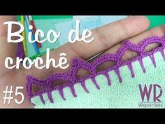 Barradinho fácil e completo de crochê para iniciantes #4 - YouTube