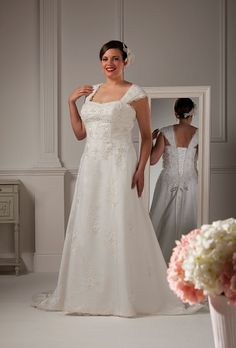 Special Day style 13860 ~ The Moderne Bridal, Cork  #plussizebride #plussizebridal