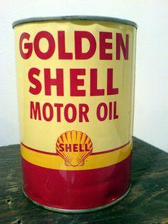 SHELL Golden Shell Motor Oil