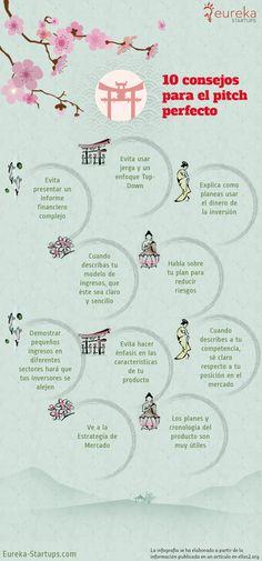 10 consejos para el pitch perfecto #infografia