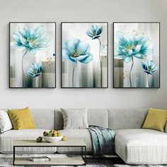 Botanical print gold art Printable wall art Set of 3 art print Yxpainting framed painting Abstract floral blue painting Photo Wall Art, Gold Art, Botanical Prints, Abstract Painting, Blue Abstract Art, Printable Art, Abstract Flowers Print, Painting Frames, Cactus Wall Art