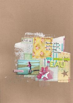 #papercraft #scrapbook #layout. by lililali