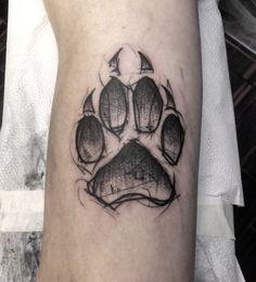 bear paw tattoo | Tumblr