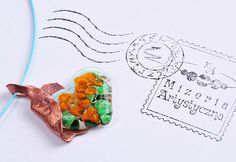 Items similar to Necklace with glass-orange-flowered heart in copper on Etsy Orange Flowers, Heart Shapes, Arts And Crafts, Copper, Glass, Etsy, Drinkware, Orange Blossom, Art And Craft