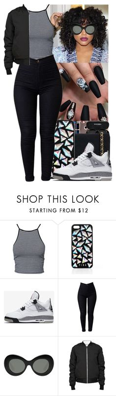 """"""""""" by jasmine1164 ❤ liked on Polyvore featuring Estradeur, Victoria's Secret, NIKE, Elizabeth and James and T By Alexander Wang"""
