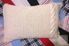 Ravelry: Seeded Twist Pillow pattern by Jennifer Banks