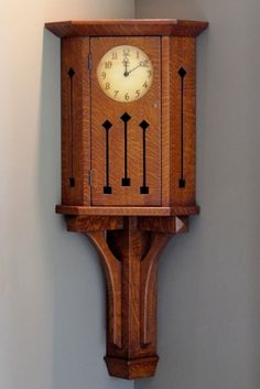1000 images about arts and crafts movement on pinterest for Arts and crafts style wall clock