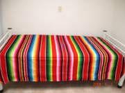 mexican serape bedspread