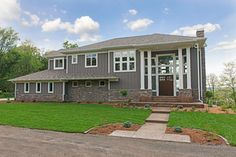 2013 Spring Event Home - Hudson, WI - transitional - Exterior - Minneapolis - Dreamstructure DesignBuild - BM BEAR CREEK PAINT