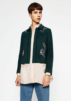 Must-have jackets for autumn/winter 16 - Zara