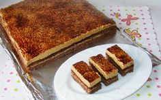 Easy Cake Recipes, Sweets Recipes, Romanian Desserts, Romanian Recipes, Romanian Food, Delicious Desserts, Yummy Food, Just Cakes, Dessert Bread