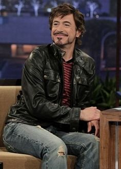 RDJ- as always having an awfully good time with himself!