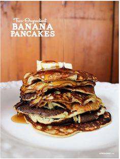 Two Ingredient Banana Pancakes Recipe - Gluten & Dairy Free