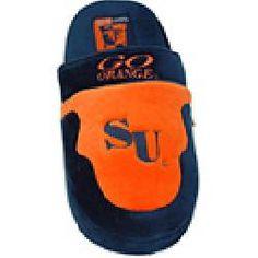 610edbf039c ComfyFeet Syracuse Orange Slip On Slippers