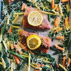 For my Valentines gift Darren came with me to TRX. I loved working out with him! Since class is over the noon hour we are eating late. Lunch can cook while we shower off and is an easy Sheet Pan meal of garlic lemon Salmon with Parmesan Edward Veggies. Assembles in a few minutes bakes in 20. #fitover40females #fitover40 #sheetpandinner #sheetpansuppers #proteinandproduce #weightlossfood #omega3s