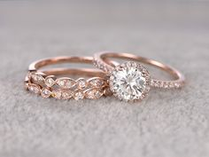 Diamond Eternity Ring, Wedding Band for Her, Eternity Ring, Thin Diamond Band, Bezel Setting Eternity Band with Rose Gold Ring for Wife - Fine Jewelry Ideas Diamond Cluster Engagement Ring, Gold Diamond Wedding Band, Vintage Engagement Rings, Halo Engagement, Gold Wedding, Olive Wedding, Wedding Sets, Elegant Wedding, Dream Wedding