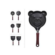 QINF Cartoon Animal Shaped Omelets Pancake Pan Assorted Styles *** See this great product.(This is an Amazon affiliate link and I receive a commission for the sales)