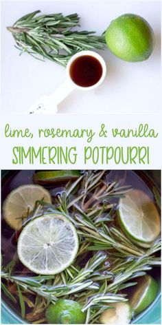 How to Keep Your Home Fresh for Springtime - Find out how we use this lime, rosemary and vanilla simmering potpourri to keep our home springtime fresh. One of my favorite spring cleaning hacks Homemade Potpourri, Simmering Potpourri, Stove Top Potpourri, Potpourri Recipes, Deep Cleaning Tips, House Cleaning Tips, Diy Cleaning Products, Spring Cleaning, Cleaning Hacks